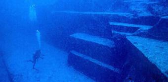 Unterwasser Pyramid